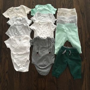 Baby clothes lot size 3-6 months